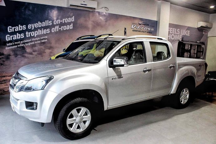 Isuzu D-Max V-Cross – India's First Adventure Utility Vehicle