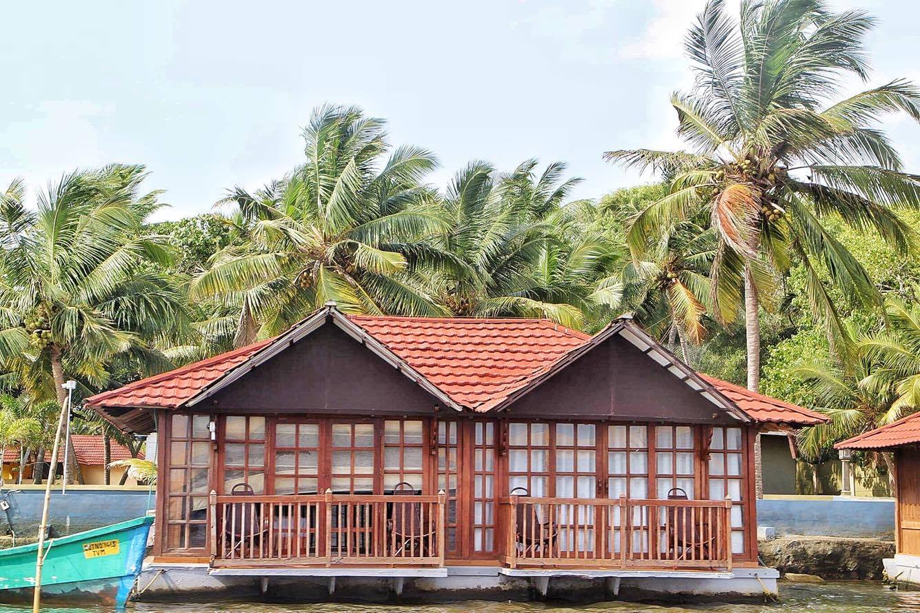 Poovar Island Backwaters