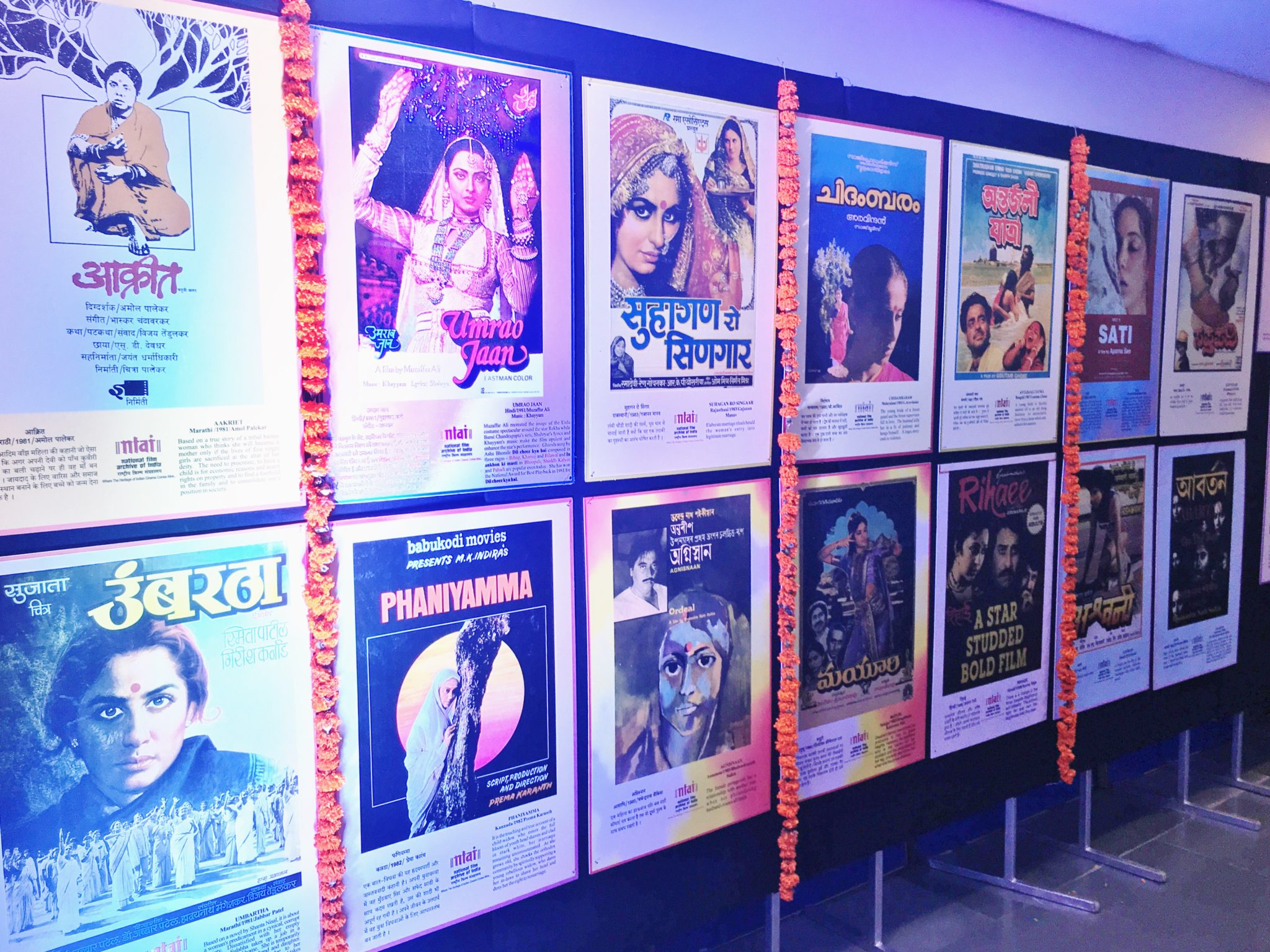 posters, IFFI 2018
