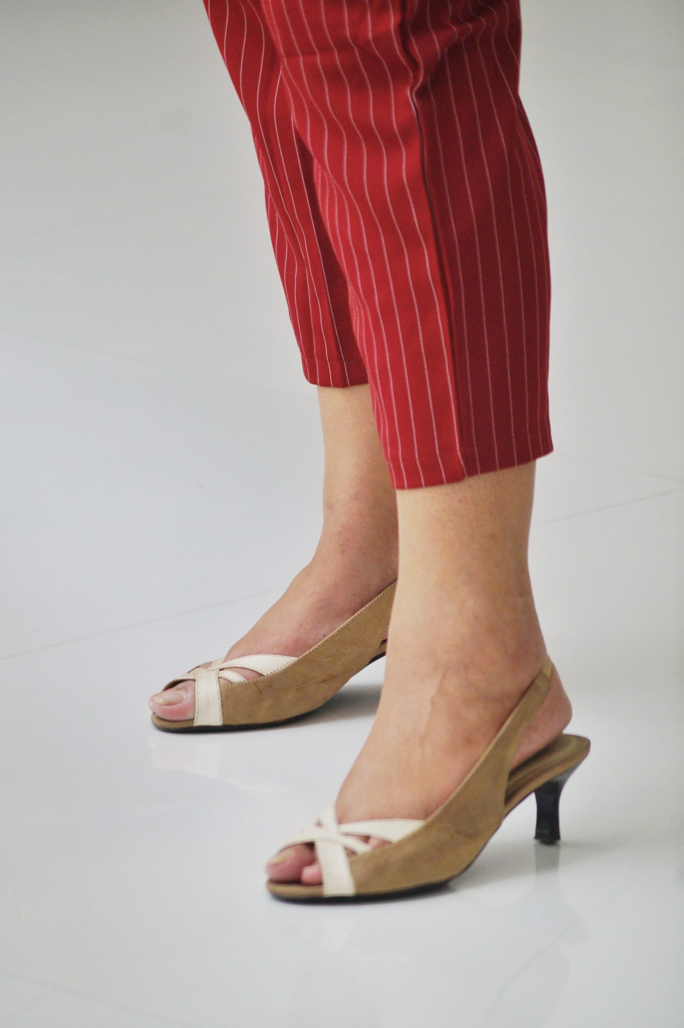 Style Trousers In Three Different Ways, footwear