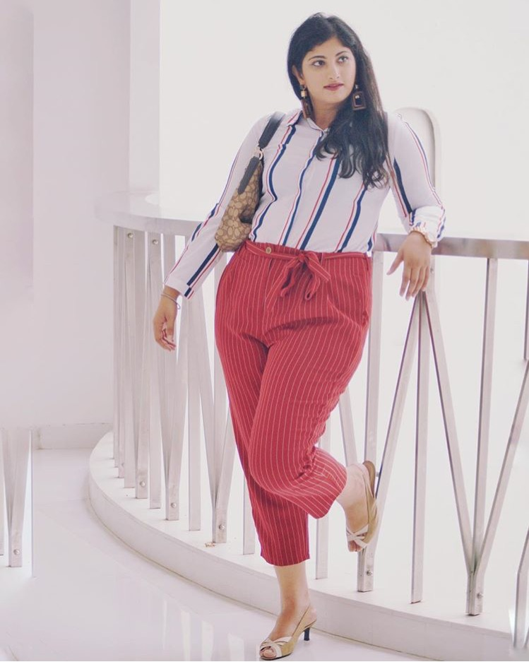 Style Trousers In Three Different Ways, striped trousers